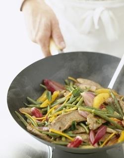 Comida sana y sabrosa �en el wok!