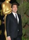 Javier Bardem, radiante en la comida de nominados a los Oscar