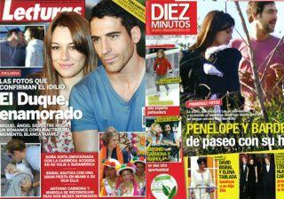 Las portadas de las revistas del coraz�n de esta semana 23/3/11