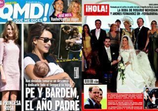 Las portadas de las revistas del coraz�n de esta semana 13/4/11