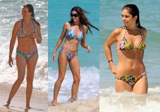 Las famosas m�s sexys en bikini