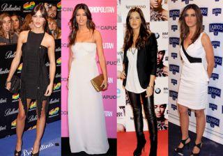 Los mejores looks en blanco y negro de Sara Carbonero