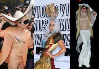 Los looks m�s extravagantes de Lady Gaga