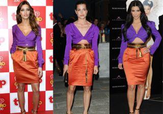 Sara Carbonero, Carlota Casiraghi y Kim Kardashian, �qui�n lleva mejor el Gucci?