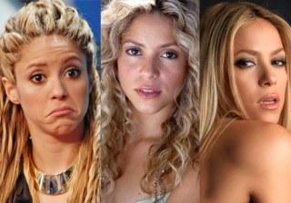 Shakira y sus peinados