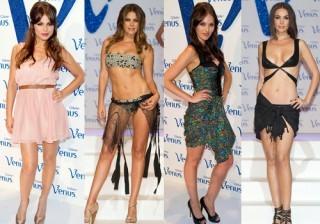 Amaia Salamanca, Noelia L�pez y Vanesa Romero en los Premios Venus de dise�o