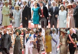 Los vestidos de la realeza en la boda de los Pr�ncipes de M�naco