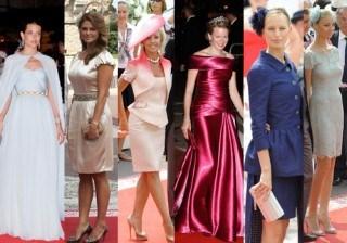 Las 10 mejor vestidas de la boda de M�naco