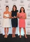 Fabiola Mart�nez, M�nica Molina y Juana Acosta, amantes de las fragancias frescas