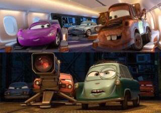 �Descubre qu� famosos personajes de colores forman el reparto de Cars 2!