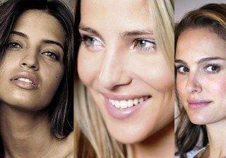 Sara Carbonero y Elsa Pataky, entre las famosas m�s guapas sin maquillaje
