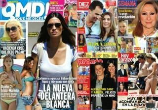 Las portadas de las revistas del coraz�n de esta semana 18/07/11