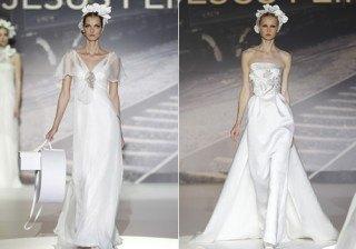 Nueva colecci�n novias 2012 Jes�s Peir�