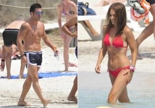 David Bustamante y Paula Echevarr�a, los cuerpos de Ibiza