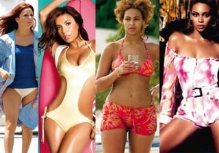 Lady Gaga, Britney Spears y Kim Kardashian entre las reinas del Photoshop