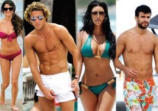Bustamante, Selena G�mez y Gerard Piqu� encabezan la lista de famosos m�s sexys en la playa
