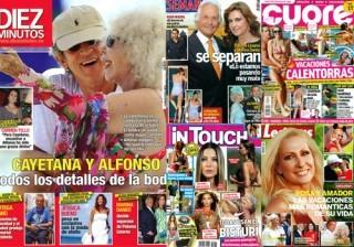 Fotos Las portadas de las revistas del corazón de esta semana 31/08/11 width=