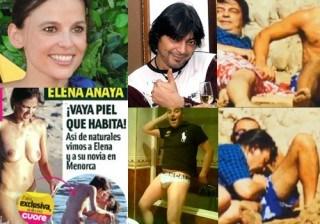 Fotos Antonio Canales y Elena Anaya... ¡homosexualidad y sexo en la playa! width=
