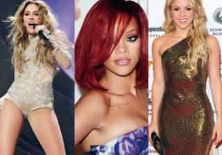 Miley Cyrus, Emma Watson y Shakira son, adem�s de famosas, guapas pero... �c�mo eran antes?