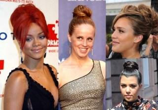 Rihanna y Paris Hilton se apuntan a la moda de los recogidos... �Te atreves?