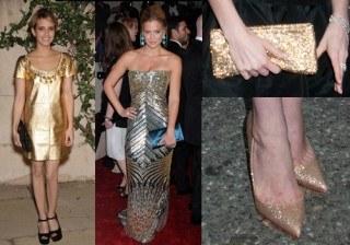 �Blake Lively, Eugenia Silva y Kim Kardashian se apuntan a la moda del dorado!