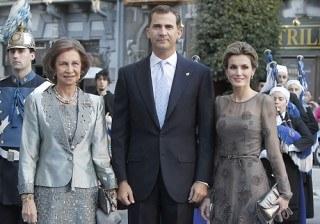 Do�a Letizia Ortiz, lecci�n de elegancia en los Premios Pr�ncipe de Asturias 2011