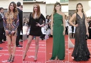 Blanca Su�rez, Cristina Casta�o y Natalia S�nchez, lucen pierna en el Festival de Cine de M�laga 2012