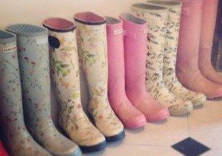 Botas de lluvia para todas, elige las tuyas