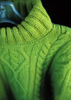 Eliminar las bolitas en las prendas de lana