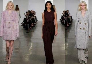 Los looks de Calvin Klein en su colecci�n Pre-Fall 2014