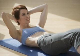 Tabla b�sica de abdominales para un vientre plano y firme
