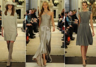 Femineidad y glamour en la colecci�n Pre-Fall 2014 de Ralph Lauren