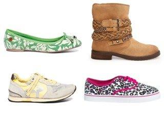 Tendencias moda calzado plano y casual primavera-verano 2014