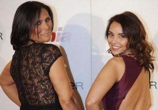 Chenoa y Rosa L�pez, sexys y solidarias en los premios �Cuida de ti� 2014