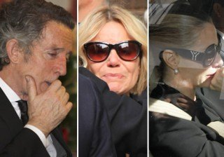 Muere la duquesa de Alba: Alfonso D�ez, Eugenia Mart�nez de Irujo y Genoveva Casanova, rotos de dolor