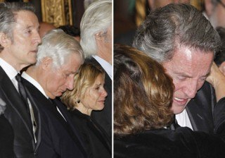 Funeral de la duquesa de Alba: Alfonso D�ez y Eugenia Mart�nez de Irujo, destrozados en su �ltimo adi�s