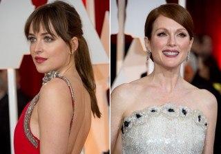 Premios Oscar 2015: Dakota Johnson y Julianne Moore, protagonistas sobre la alfombra roja