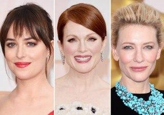 Maquillaje de Oscar: Dakota Johnson, Julianne Moore y Cate Blanchett, entre los looks m�s deseados