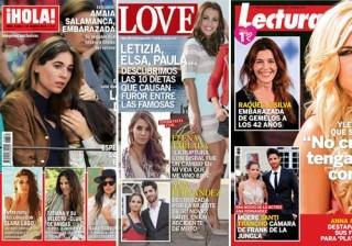 Las portadas de las revistas del coraz�n de esta semana 11/03/2015