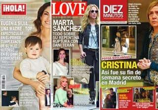 Las portadas de las revistas del coraz�n de esta semana 18/03/2015