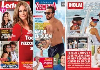 Las portadas de las revistas del coraz�n de esta semana 25/03/2015