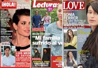 Las portadas de las revistas del coraz�n de esta semana 01/04/2015