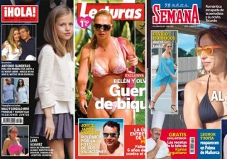 Las portadas de las revistas del coraz�n de esta semana 08/04/2015