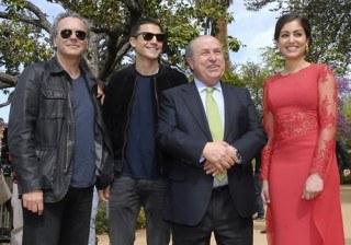 Fotos �lex Gonz�lez levanta pasiones en Granada, Hiba Abouk se agobia y Jos� Coronado est� en su salsa width=