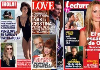 Las portadas de las revistas del coraz�n de esta semana 15/04/2015