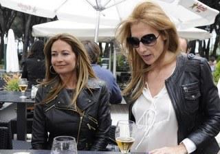 Olvido Hormigos y M�nica Pont: as� fue su d�a s�lo para chicas