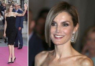 Letizia Ortiz estrena �bob� y estilismo de alfombra roja para eclipsar los Premios Woman