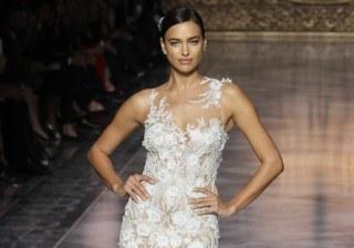 Irina Shayk, la �princesa� de Bradley Cooper, se viste de novia en la Barcelona Bridal Week