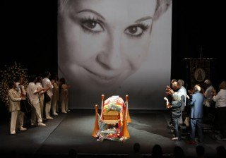 Lina Morgan muere abarrotando La Latina
