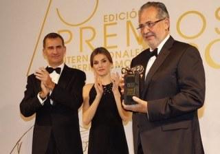 Don Felipe y do�a Letizia inundan de elegancia los Premios Mariano de Cavia de ABC